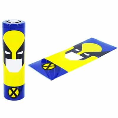 E-Zigarette Schrumpfschlauch für 18650 Akkus Wolverine Wolverine
